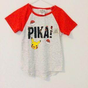 New Girls Pikachu T-Shirt - 6